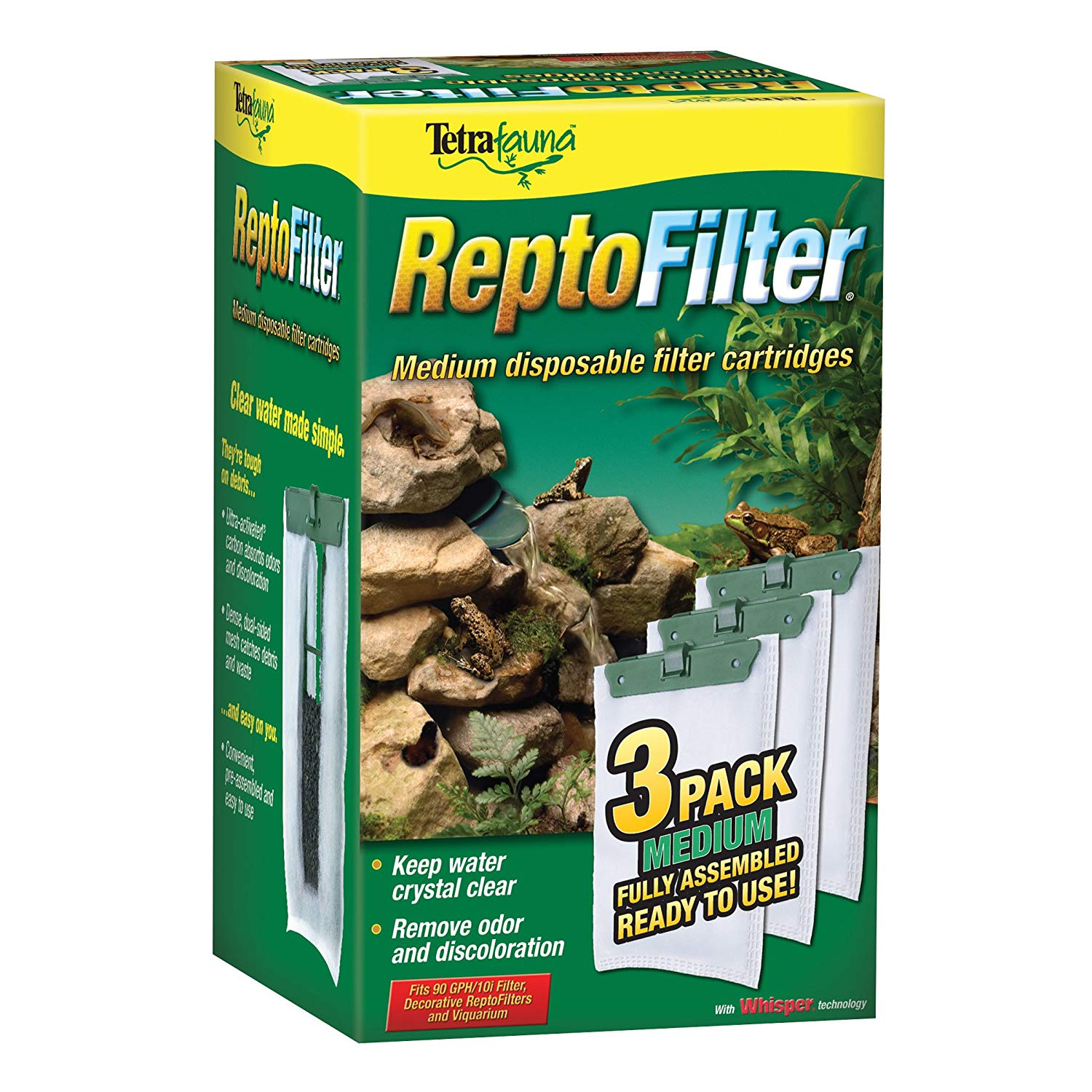 TetraFauna® ReptoFilter® Filter Cartridges 3 ct (medium)
