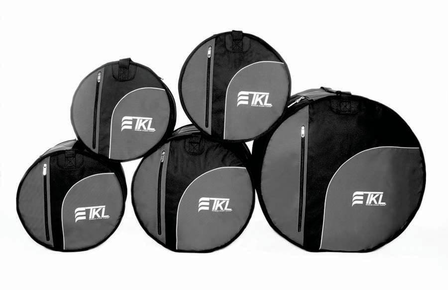 TKL Cases Five Piece Drum Bag Set by TKL