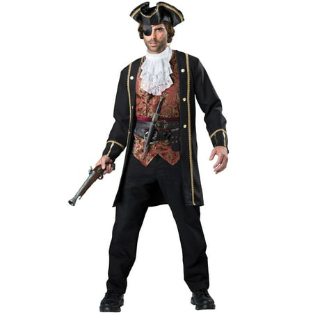 Men's Pirate Captain Costume (Mens Pirate Costume)