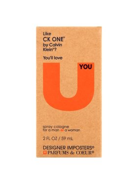 Designer Imposters U Spray Cologne for a Man or a Woman, 2 fl oz