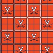 University of Virginia Flannel Fabric-Sold by the yard