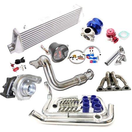 Turbo Kits T3/T4 Turbo for 1988-1995 Honda Civic B16 B18 Tubular Manifold