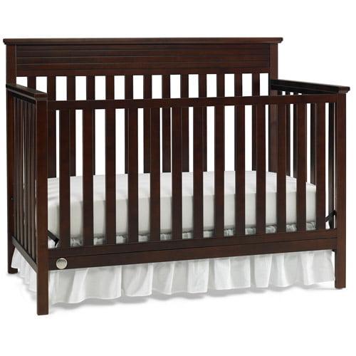 Fisher Price Newbury 4-in-1 Convertible Crib, Cherry by Generic