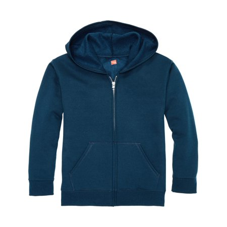 Hanes Solid Fleece Zip Up Hooded Sweatshirt (Little Boys & Big Boys)