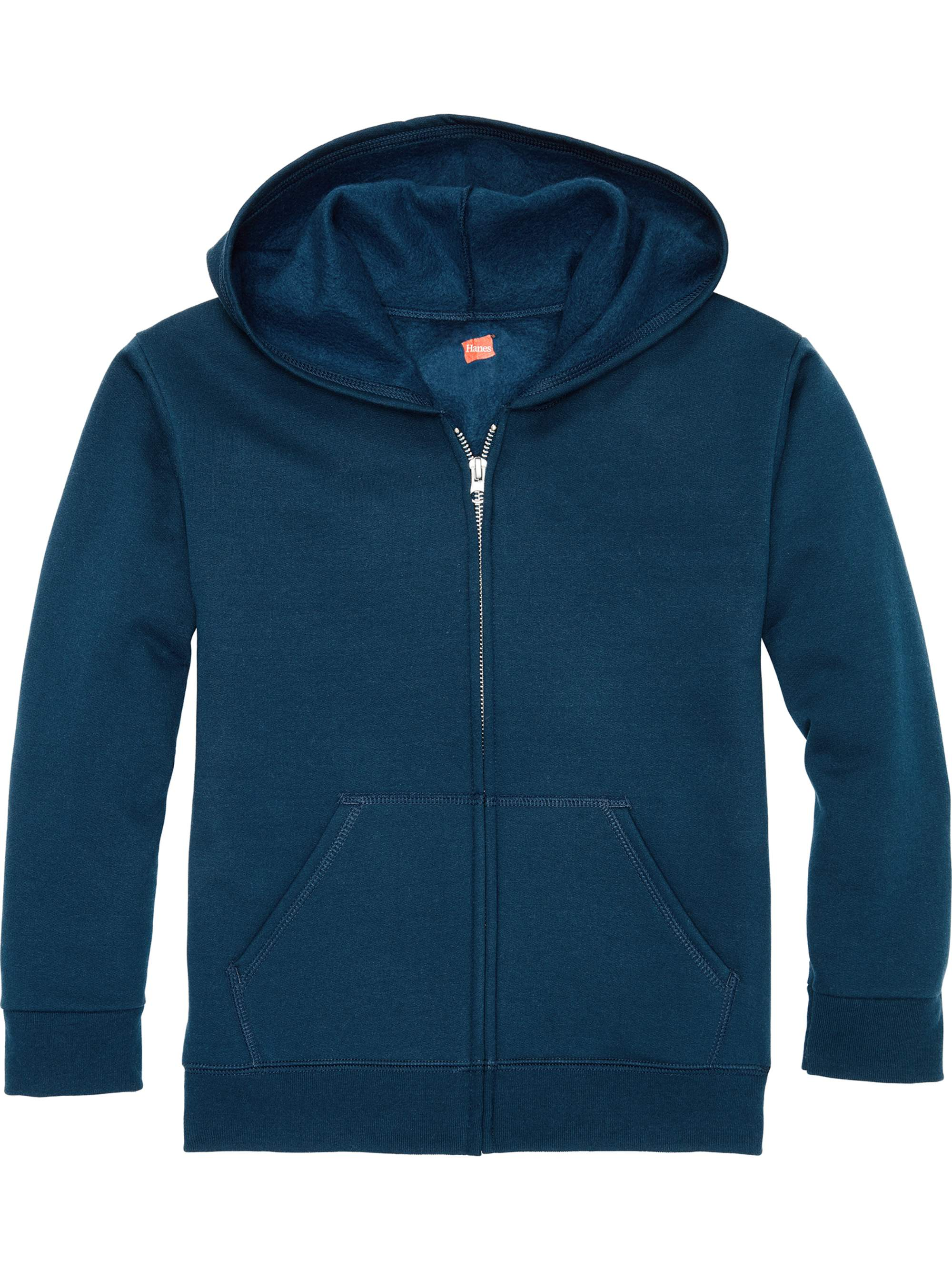 Solid Fleece Zip Up Hooded Sweatshirt (Little Boys & Big Boys)