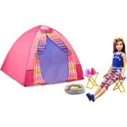 Barbie Camping Fun Skipper Doll and Tent Playset by MATTEL INC.