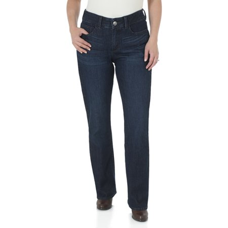 Riders by Lee Women's Slender Stretch Slimming Bootcut Jeans With ...
