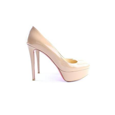 Christian Louboutin Nude Patent Bianca 5clr0618 Sandals