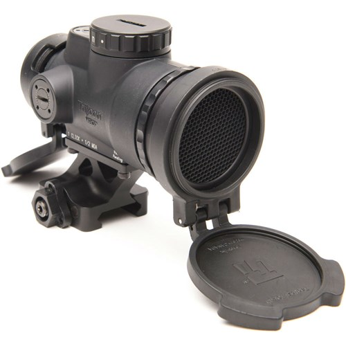 Trijicon MRO-C-2200019 MRO Patrol with Full Co-Witness Quick Release Mount MRO 1x 25mm Red Dot Scope - Black with Full Co-Witness Quick Release Mount