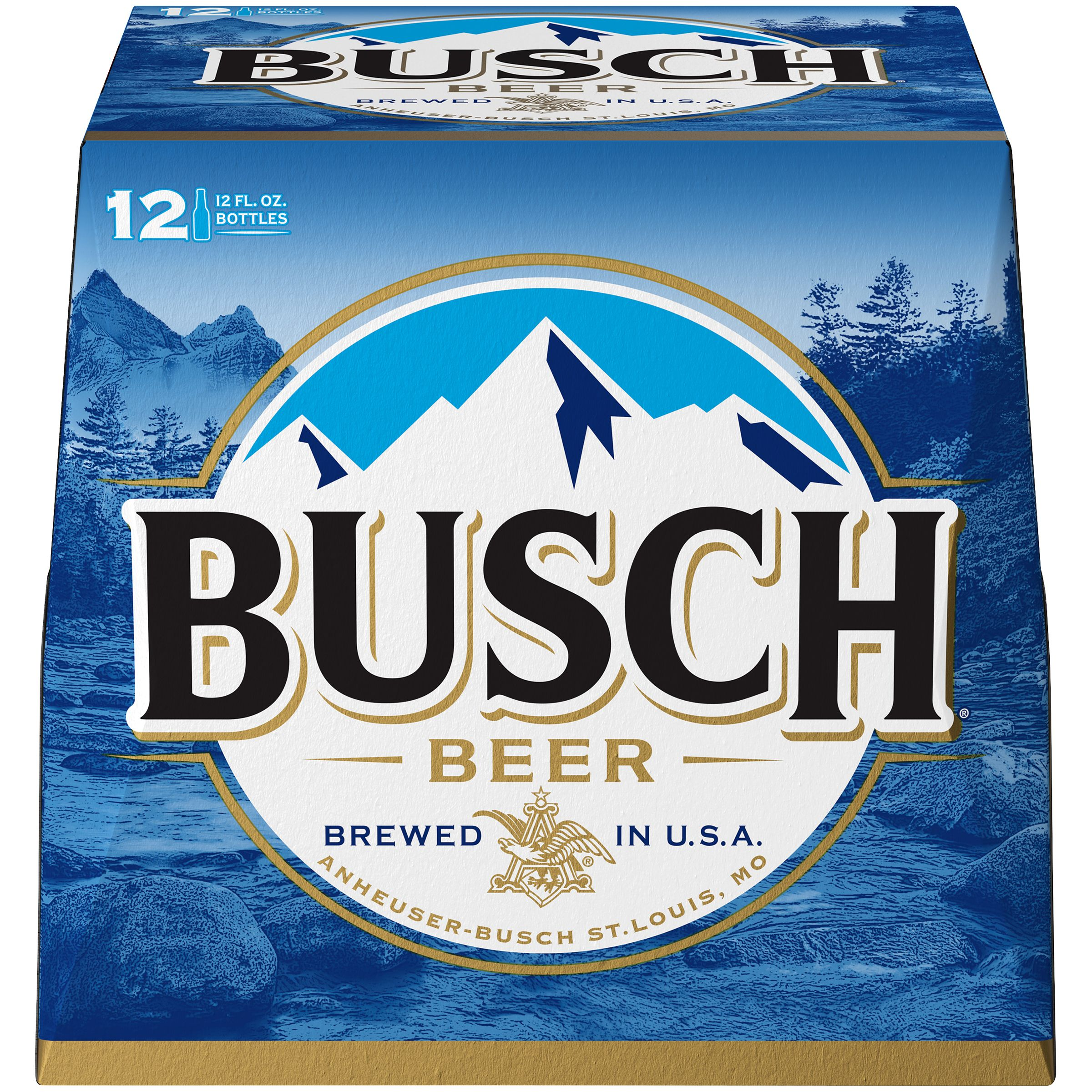 Busch Beer, 12 pk 12 fl. oz. Bottles
