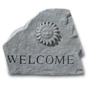Kay Berry- Inc. 66920 Welcome - Sun Garden Accent - 11.5 Inches x 9.5 Inches
