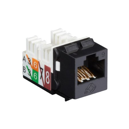Black Box Network Services Gigatrue2 Cat6 Jack Universal Wiring C