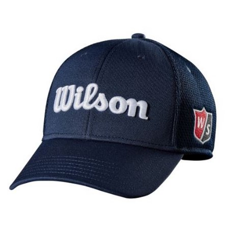 Wilson Tour Full Mesh Hat Cap Relaxed Fit Golf Baseball Color Choice WGH6100 (Mizuno Tour Golf Caps)