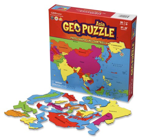 Geotoys set of 6 geopuzzles world map puzzle jigsaw puzzle to qty gumiabroncs Choice Image