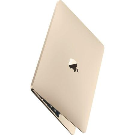 Apple MacBook MK4M2LL/A Intel Core M-5Y31 X2 0.9GHz 8GB 256GB, Gold (Scratch And Dent