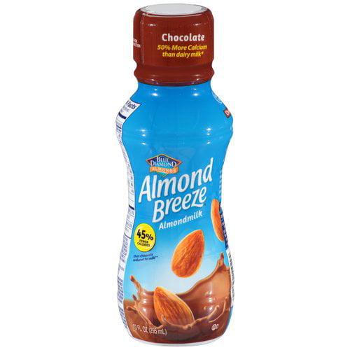 Blue Diamond Almond Breeze Chocolate Almond Milk, 10 fl oz