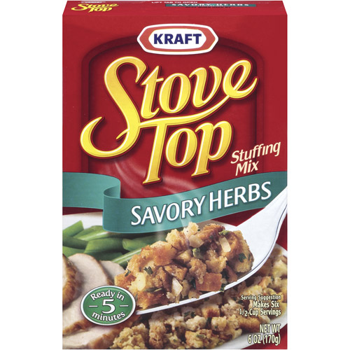Kraft Savory Herbs Stove Top Stuffing Mix, 6 oz