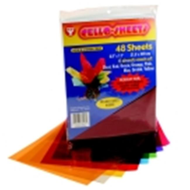 Hygloss 8. 5 x 11 inch Acid-Free Moisture Proof Cellophane Sheet, Pack - 192