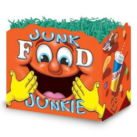 Burton & Burton Junk Food Junkie Box, Small, Set Of 6 (Junk Food Junkie)