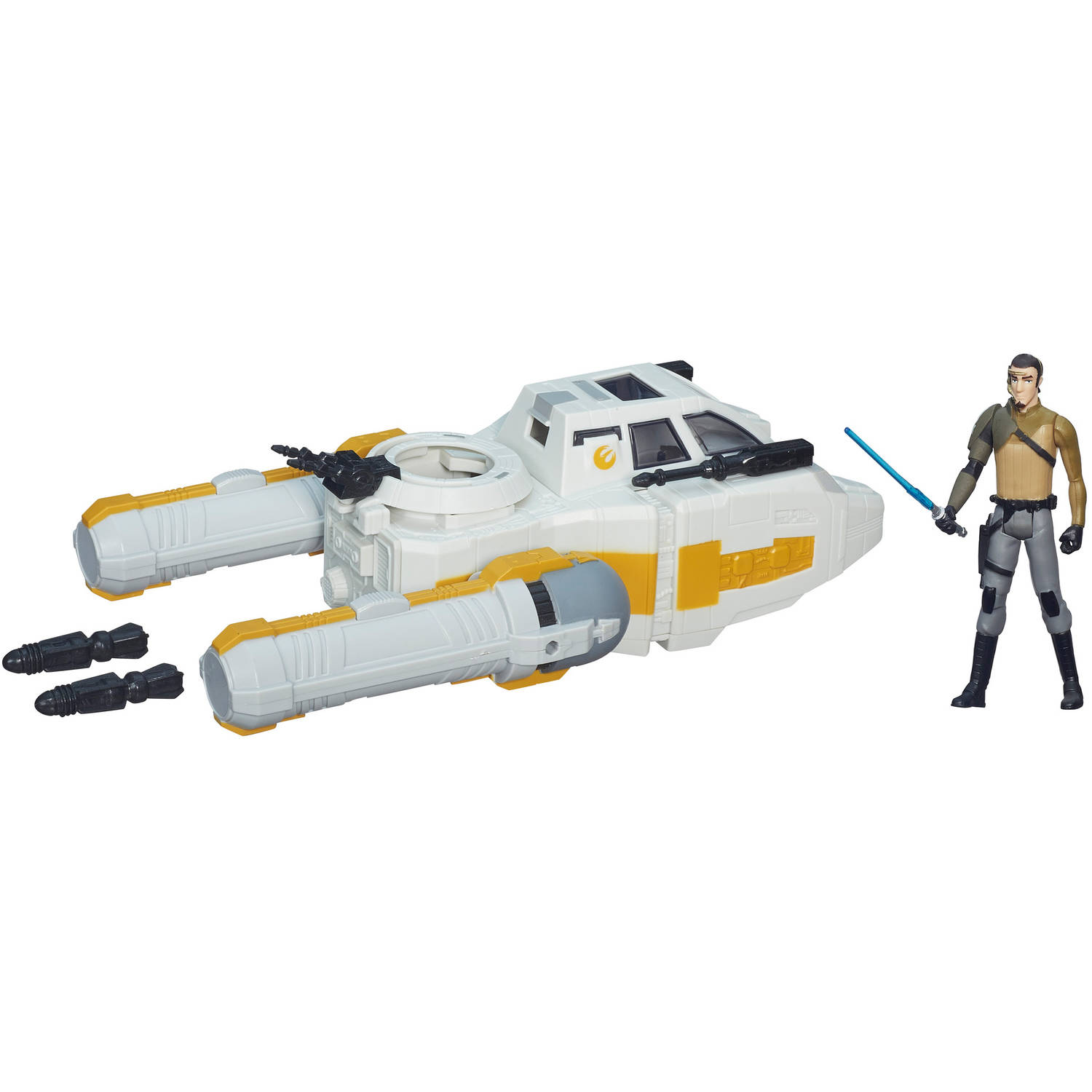 """Star Wars Rebels 3.75"""" Vehicle Y-Wing Scout Bomber"""