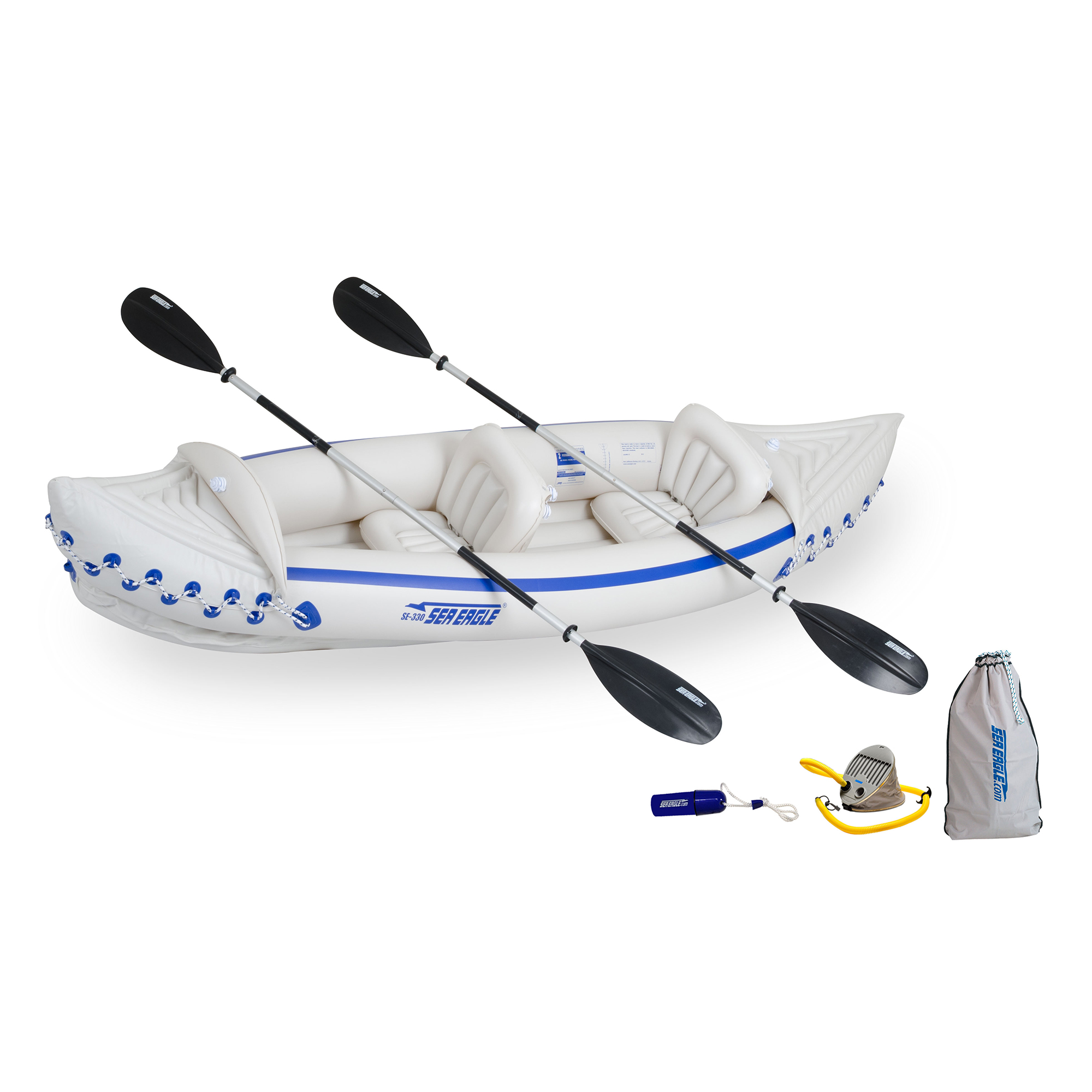 Sea Eagle 330 Sport Kayak Deluxe Package