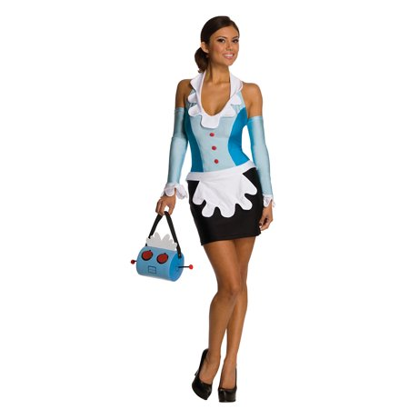 The Jetsons Rosie The Robot Maid Costume by Rubies 889904