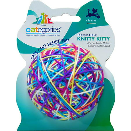 Knitty Kitty Cat Toy