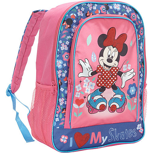 Backpack - Disney - Minnie Mouse I Love My Skates Large School Bag 372698