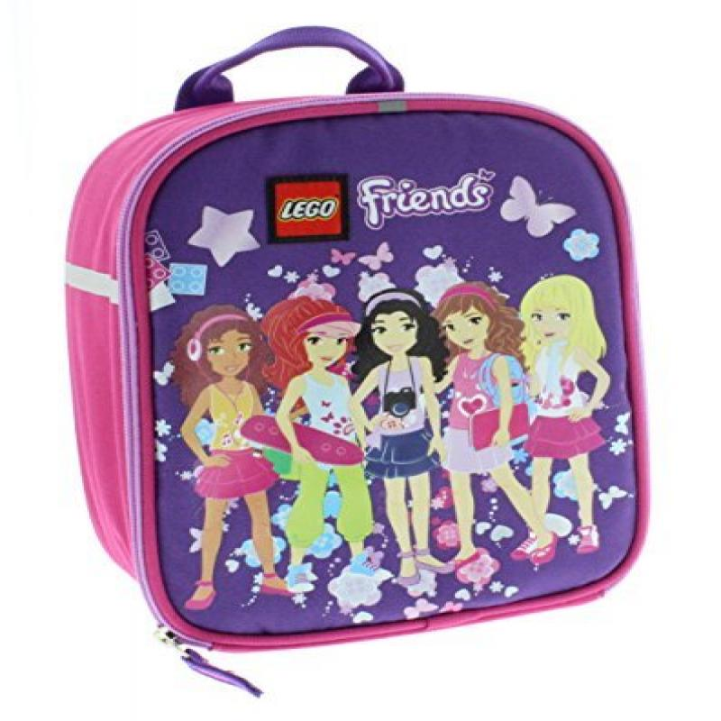 Lego Friends Insulated Lunch Bag