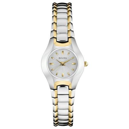 Bulova Women's Two Tone Classic Watch 98T84