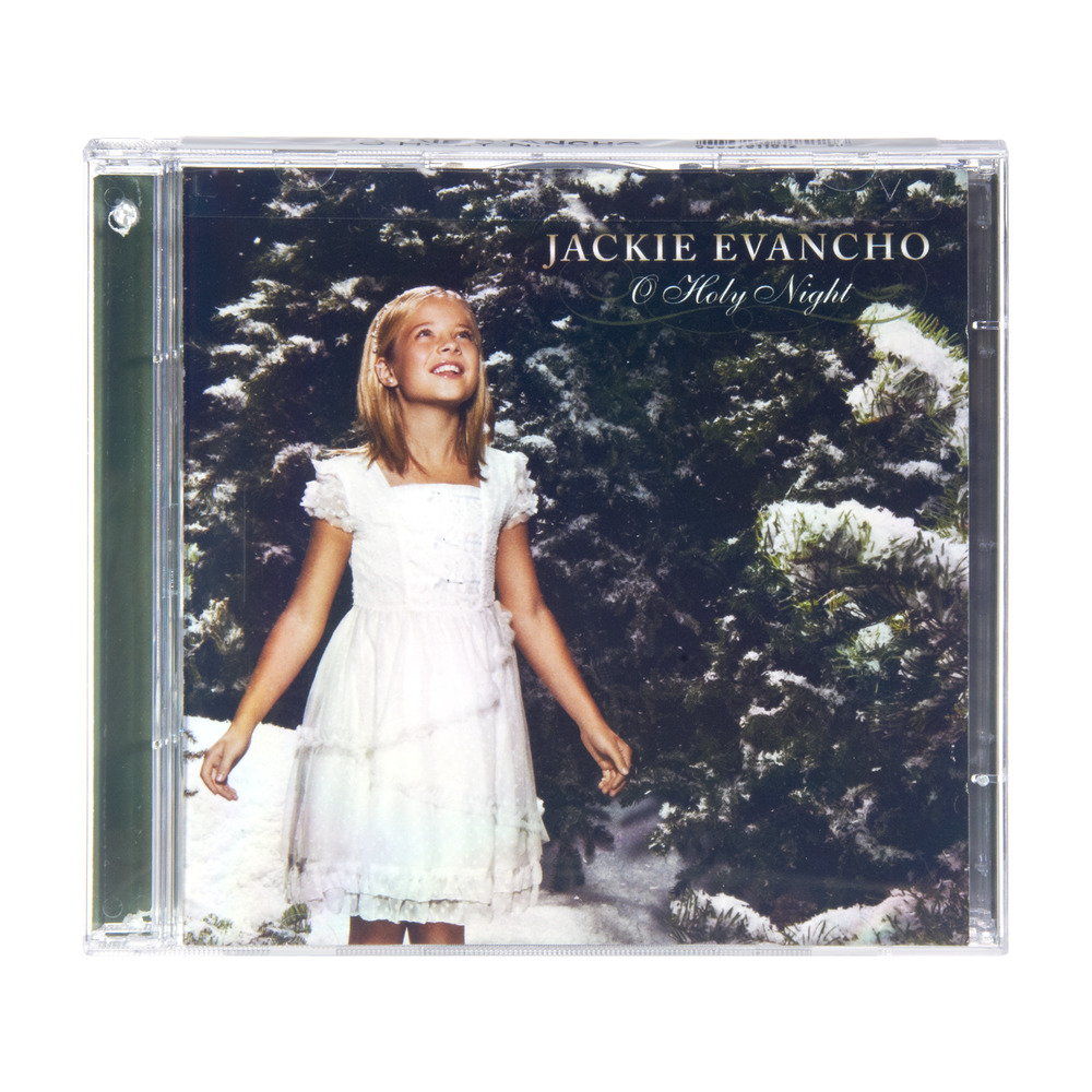 Jackie Evancho Holy Night CD, 1.0 CT