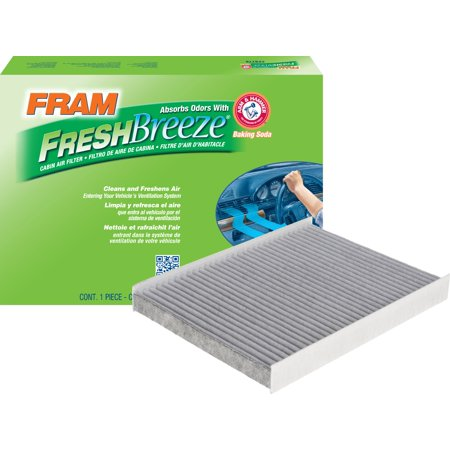 FRAM Fresh Breeze Cabin Air Filter, CF12161