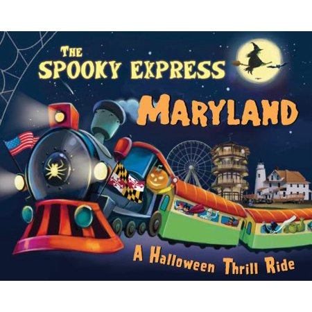 Spooky Express Maryland, The - Word World Spooky Halloween