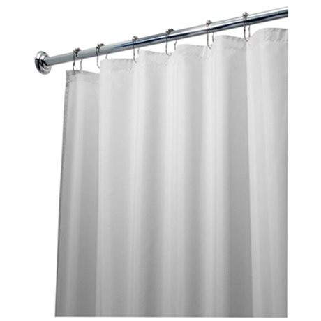 Interdesign 14962 72 x 84 in. Fabric Shower Curtain Liner
