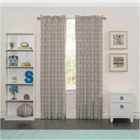 Eclipse Elephant Print Kids Bedroom Blackout Curtain Panel - Walmart.com