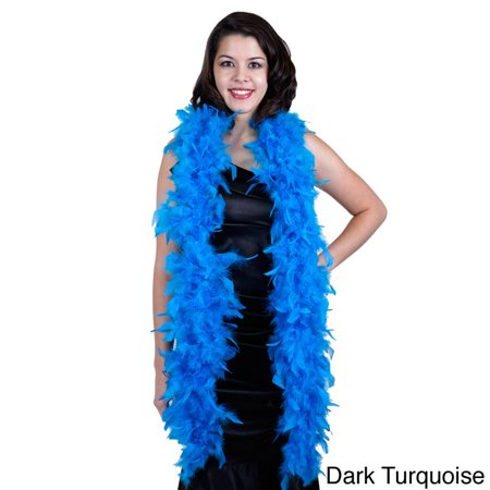 Black And Gold Feather Boa (Zucker Feather Products Chandelle Medium Weight)