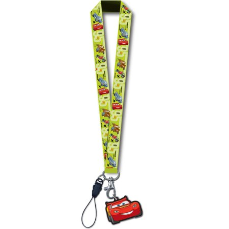 Cars Lightning McQueen Lanyard with Dangle - Disney Cars Lanyards