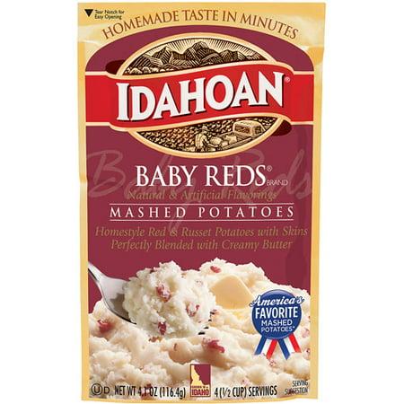 (Idahoan Baby Reds Mashed Potatoes, 4.1 Oz)