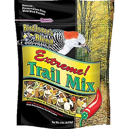 Brown's Bird Lover's Blend Extreme! Trail Mix Bird Food, 5 Lb