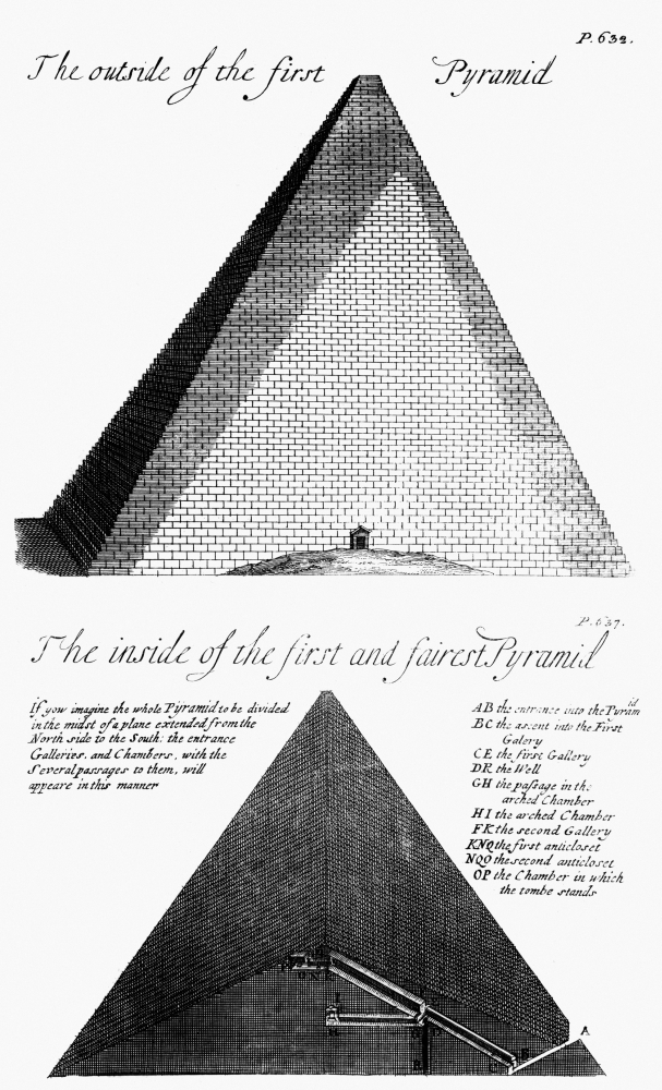 Egypt Pyramid Diagram Ndiagram Of The First And Fairest