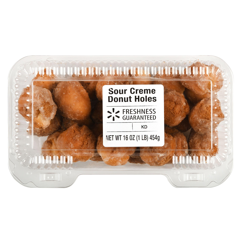 Freshness Guaranteed Sour Creme Donut Holes, 16 oz