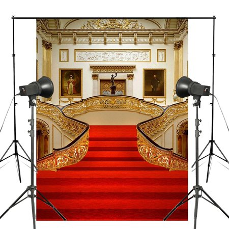 HelloDecor Polyster Background 5x7ft Red Carpet Photography Backdrop For Wedding Events Photo Studio Props](Carpet Photo)
