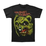 Bunny The Bear Men's  Menace T-shirt Black
