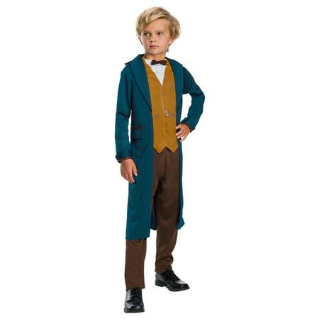 Boys Beast Costume (child's boys fantastic beasts newt scamander)