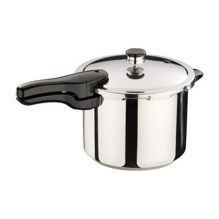 Presto 01362 6-quart Pressure Cooker, Stainless Steel, 6