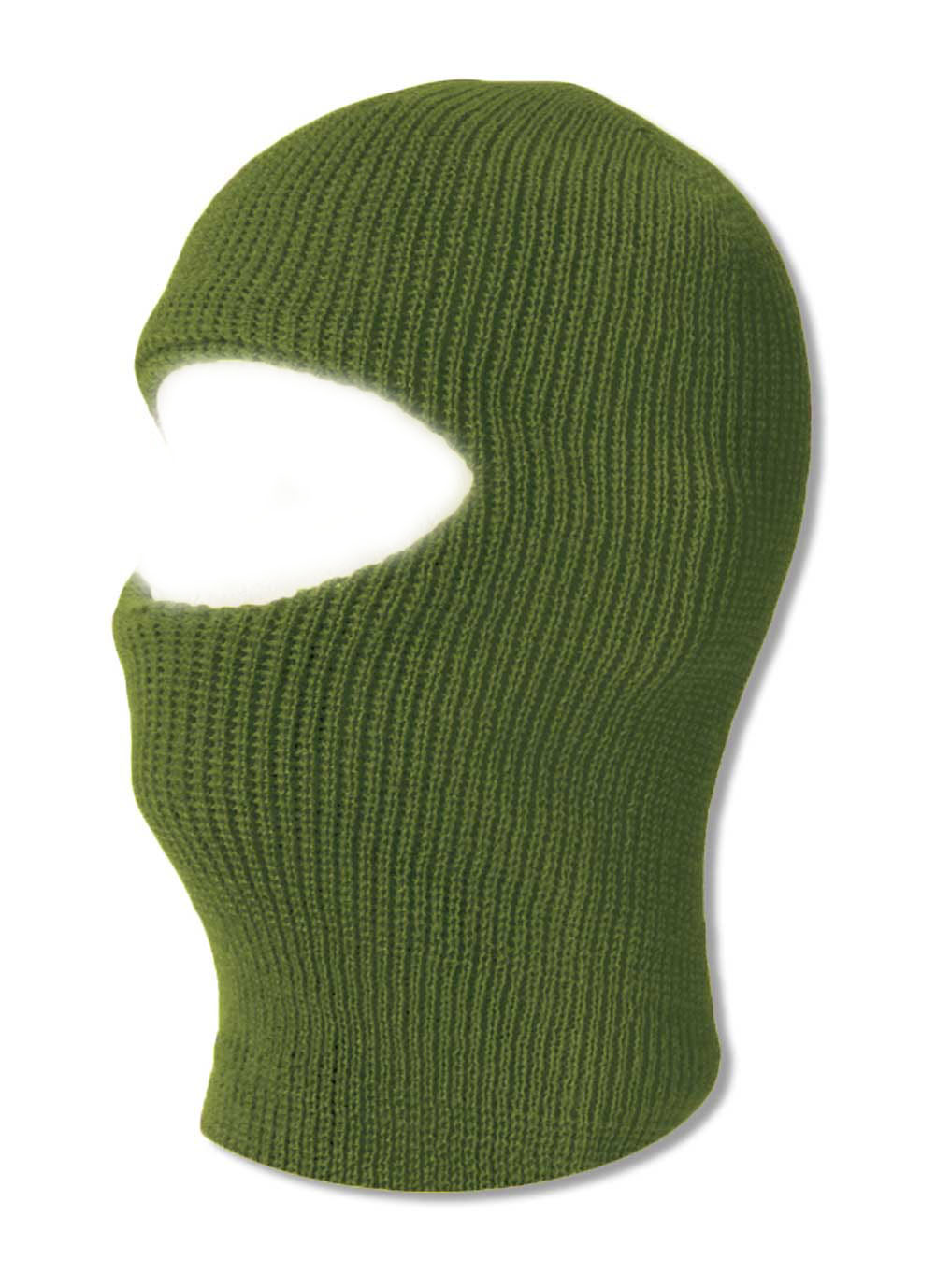 TopHeadwear One 1 Hole Ski Mask Olive by