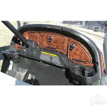 (Dash, Dark Woodgrain, Club Car Precedent 2004-2008.5)