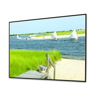 """Clarion HiDef Grey Fixed Frame Projection Screen Viewing Area: 119"""" diagonal"""