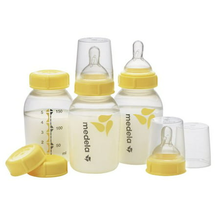 Medela Breastmilk Bottle Set, 5 Ounce, 3 Count