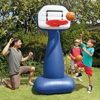Intex Shootin Inflatable Basketball Hoops Set with Two Balls